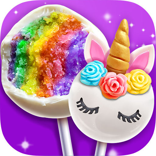 Unicorn Cake Pop Maker – Sweet Fashion Desserts  (Unlimited money,Mod) for Android 1.3