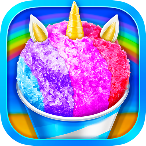 Unicorn Rainbow Snow Cone Desserts Maker  (Unlimited money,Mod) for Android 1.3