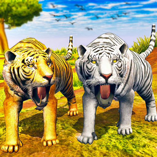 Virtual Tiger Family Simulator Wild Tiger Games  3.6 (Unlimited money,Mod) for Android