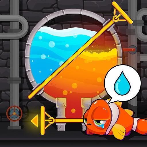 Water Puzzle – Fish Rescue & Pull The Pin  (Unlimited money,Mod) for Android 1.0.23