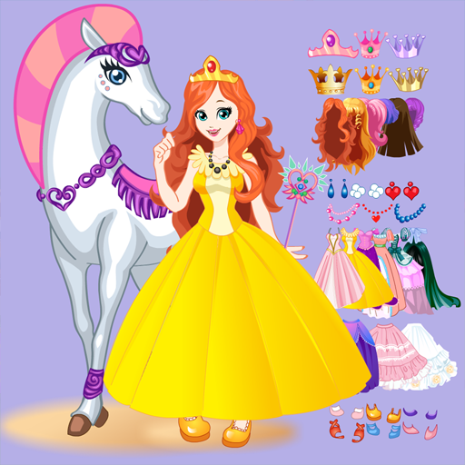 White Horse Princess Dress Up  (Unlimited money,Mod) for Android 5.0.643