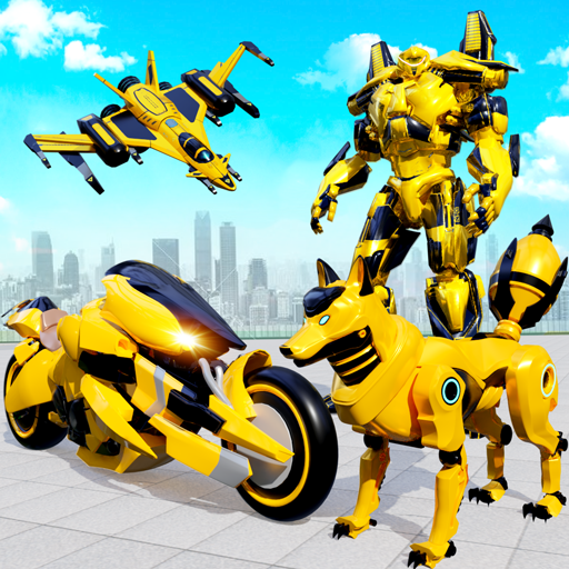 Wild Fox Transform Bike Robot Shooting: Robot Game  (Unlimited money,Mod) for Android 19