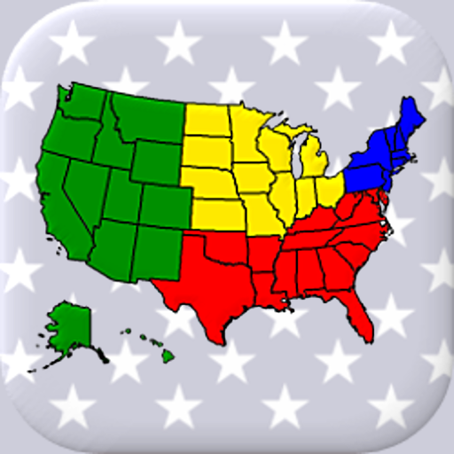 50 US States Map, Capitals & Flags – American Quiz 3.3.0 (Unlimited money,Mod) for Android