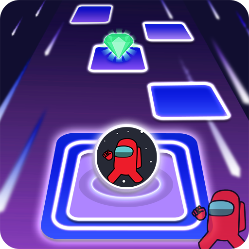 Among Us imposter Dancing hop ball 3.0 (Unlimited money,Mod) for Android