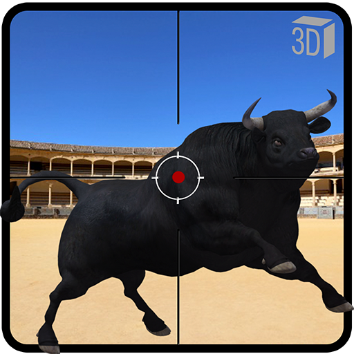 Angry Bull Attack Shooting 64.1 (Unlimited money,Mod) for Android