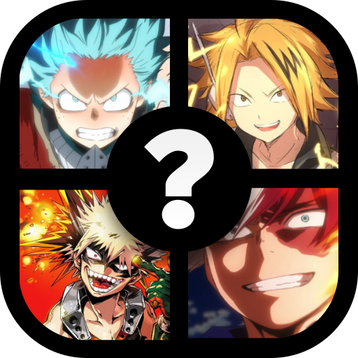 Anime Boku 4 Pics My Hero Quiz 8.7.3z (Unlimited money,Mod) for Android