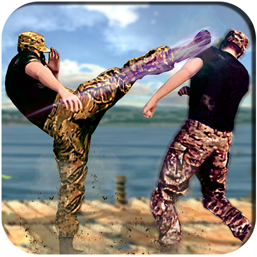 Army Battlefield Kung Fu New Fighting Games 2020 1.3 (Unlimited money,Mod) for Android