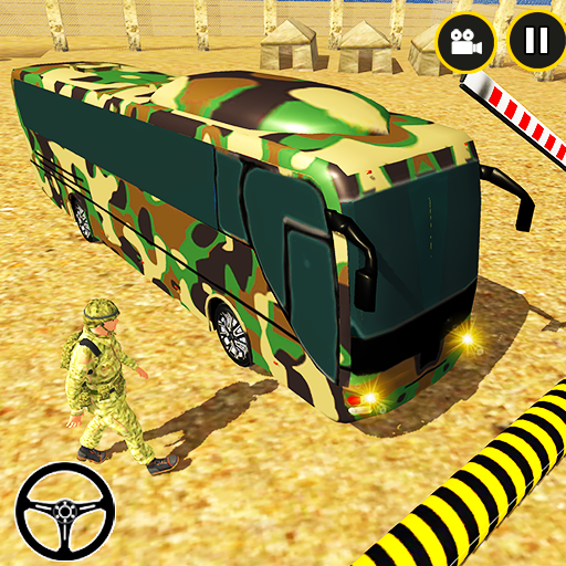 Army Bus Driving 2020 US Military Coach Bus Games 0.1 (Unlimited money,Mod) for Android