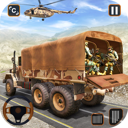 Army Truck Driving Game 2021- Cargo Truck 3D 1.0 (Unlimited money,Mod) for Android