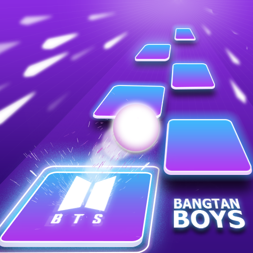 BTS Tiles Hop Music Games Songs 7.0 (Unlimited money,Mod) for Android