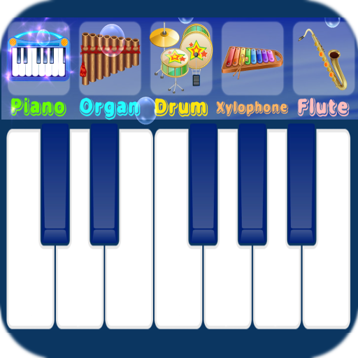 Blue Piano 1.8 (Unlimited money,Mod) for Android