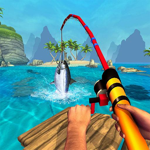 Boat Fishing Simulator: Salmon Wild Fish Hunting 1.7 (Unlimited money,Mod) for Android