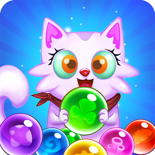Bubble Shooter: Free Cat Pop Game 2019 1.22 (Unlimited money,Mod) for Android