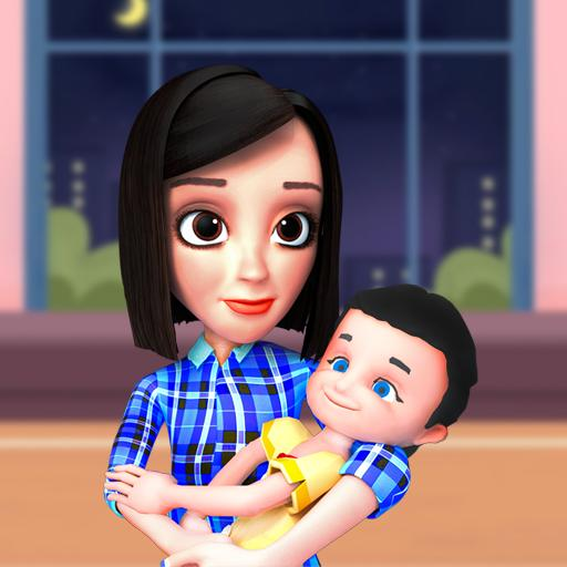 Busy Virtual Mother Simulator 2021 👩 3.0 (Unlimited money,Mod) for Android