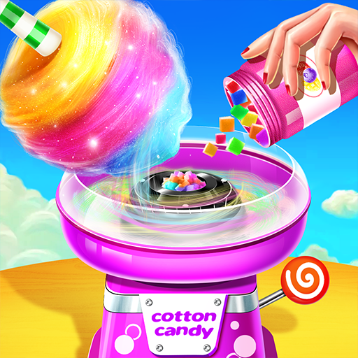 💜Cotton Candy Shop – Cooking Game🍬 6.3.5038  (Unlimited money,Mod) for Android
