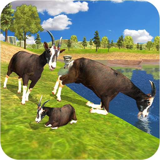 Crazy Goat Family Survival: Rampage Game 2020 1.2 (Unlimited money,Mod) for Android
