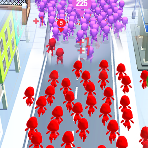 Crowd Run – City Of Wars 0.9 (Unlimited money,Mod) for Android