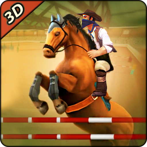 Derby horse Riding Finish Quest Race Jump 1.0 (Unlimited money,Mod) for Android