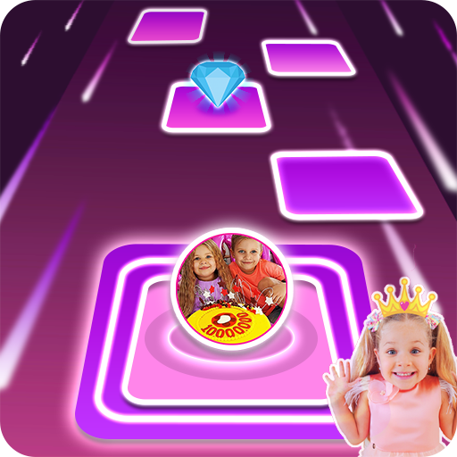Diana and Roma Tiles hop for kids 3.0 (Unlimited money,Mod) for Android