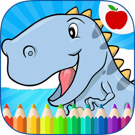 Dinosaurs Coloring Book 15 (Unlimited money,Mod) for Android