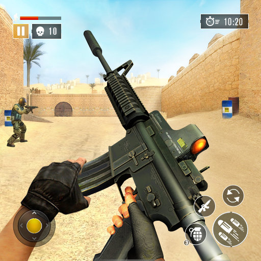 FPS Commando Secret Mission – Free Shooting Games  4.7 (Unlimited money,Mod) for Android