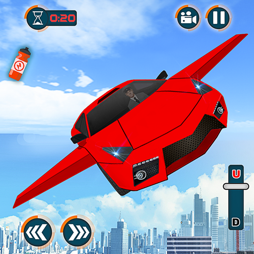 Flying Car Shooting Games – Drive Modern Cars Game 1.7 (Unlimited money,Mod) for Android