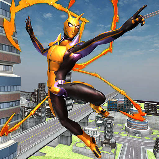 Flying Spider Hero Two -The Super Spider Hero 2020 0.2.7 (Unlimited money,Mod) for Android