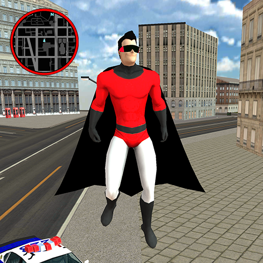 Flying SuperHero Rope Vegas Rescue 2.3 (Unlimited money,Mod) for Android