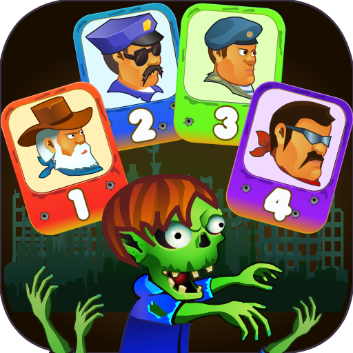 Four guys & Zombies (four-player game) 1.0.2 (Unlimited money,Mod) for Android