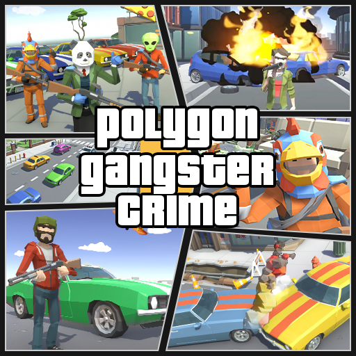Grand City Theft War: Polygon Open World Crime  2.1.7 (Unlimited money,Mod) for Android