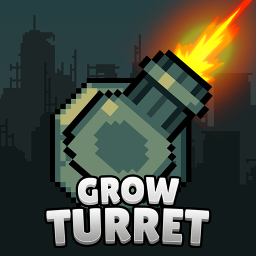 Grow Turret – Idle Clicker Defense  7.5.5 (Unlimited money,Mod) for Android