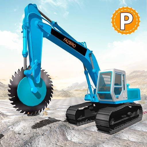 Heavy Excavator Rock Mining Stone Cutter Simulator 4.5 (Unlimited money,Mod) for Android