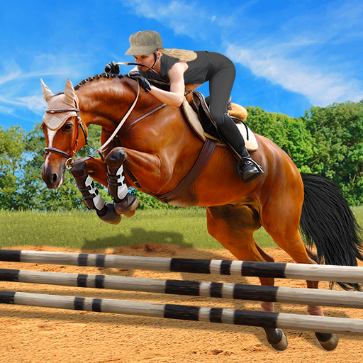 Horse Riding Simulator 3D : Jockey Mobile Game 1.4 (Unlimited money,Mod) for Android