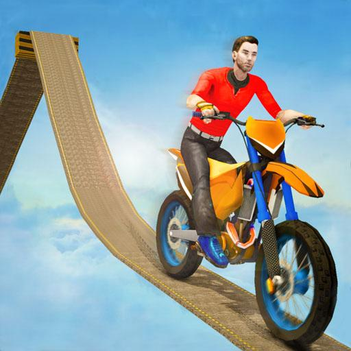 Impossible Bike Track Stunt Games 2021: Free Games 2.0.02 (Unlimited money,Mod) for Android