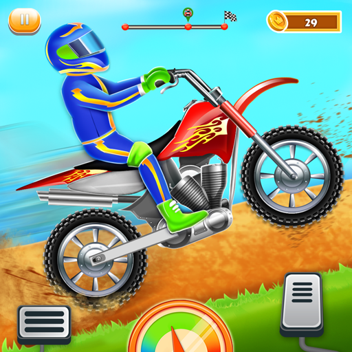 Kids Bike Hill Racing: Free Motorcycle Games 0.9 (Unlimited money,Mod) for Android
