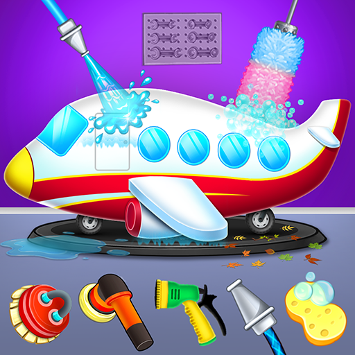 Kids Plane Wash Garage: Kids Plane Games 2.2 (Unlimited money,Mod) for Android
