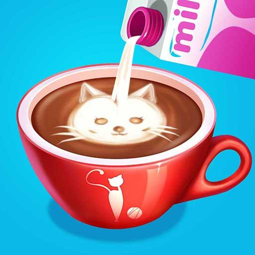 🐱Kitty Café – Make Yummy Coffee☕ & Snacks🍪 2.3.5038 (Unlimited money,Mod) for Android