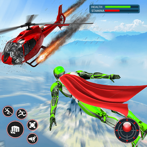 Light Speed Robot Hero – City Rescue Robot Games 1.0.2 (Unlimited money,Mod) for Android