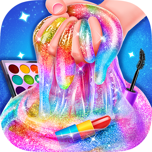 Makeup Slime – Fluffy Rainbow Slime Simulator 1.6.1 (Unlimited money,Mod) for Android