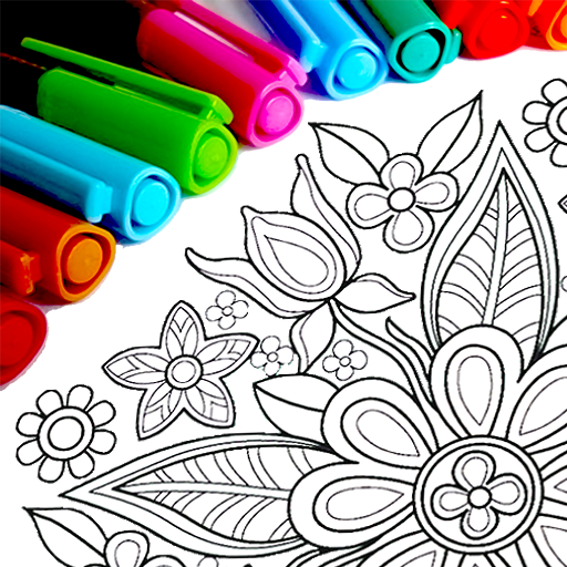 Mandala Coloring Pages  16.1.4 (Unlimited money,Mod) for Android