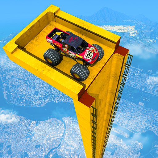 Mega Ramp Monster Truck Driving Stunts Racing Game 2. 0.11(Unlimited money,Mod) for Android