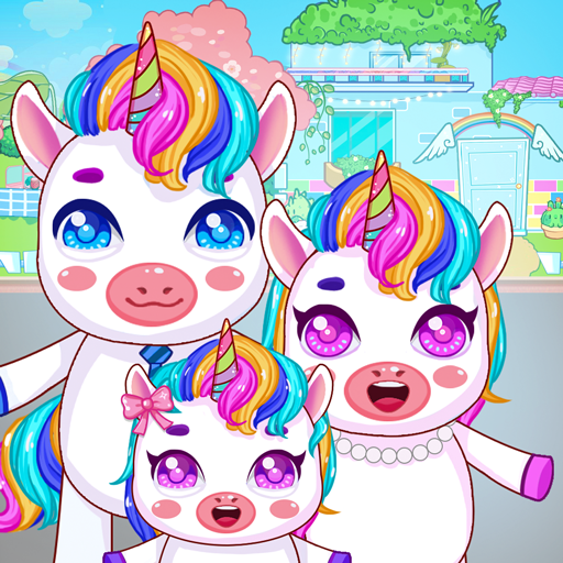 Mini Town: Unicorn Home 1.5 (Unlimited money,Mod) for Android