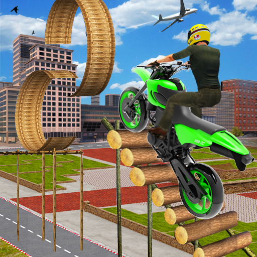 Moto Bike Stunts Race 2020: Free Motorcycle Games 1.8 (Unlimited money,Mod) for Android