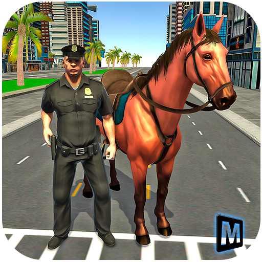 Mounted Police Horse Chase 3D 1.0 (Unlimited money,Mod) for Android