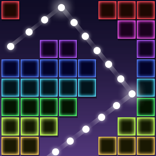 Neon Bricks Master 1.0.4 (Unlimited money,Mod) for Android