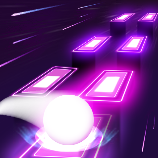 Neon Tiles Hop Color Ball : Forever Dancing Ball 1.5 (Unlimited money,Mod) for Android