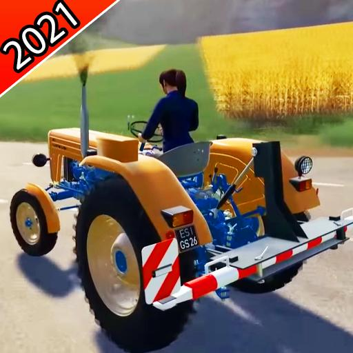 New Real Tractor trolly Simulator 3D 1.04 (Unlimited money,Mod) for Android