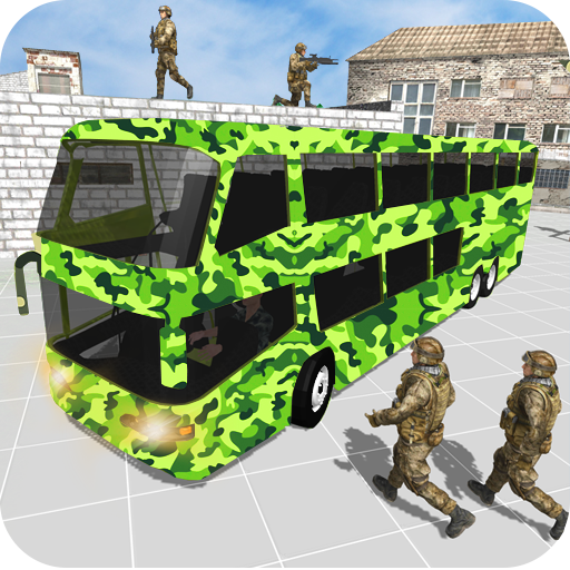Offroad New Army Bus Game 2019 1.6 (Unlimited money,Mod) for Android