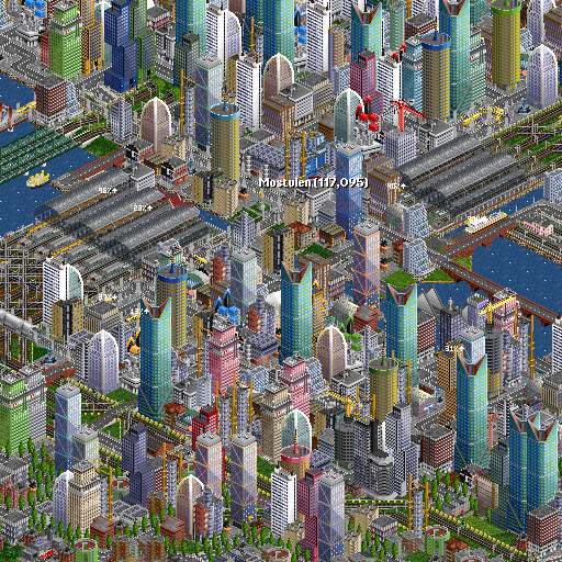 OpenTTD JGR 0.39.2  (Unlimited money,Mod) for Android