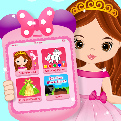 Pink Little Talking Princess Baby Phone Kids Game 9.0.1 (Unlimited money,Mod) for Android